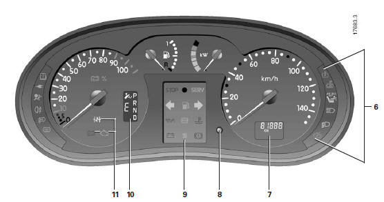 manuel du conducteur renault kangoo 2 electrique tableau de bord la conduite. Black Bedroom Furniture Sets. Home Design Ideas